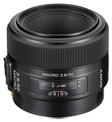 Объектив Sony 50mm f/2.8 Macro DSLRA100