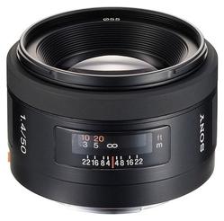 Объектив Sony 50mm f/1.4 DSLRA100