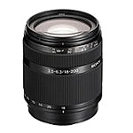 Объектив Sony 18-200mm, f/ 3.5-6.3 DSLRA100